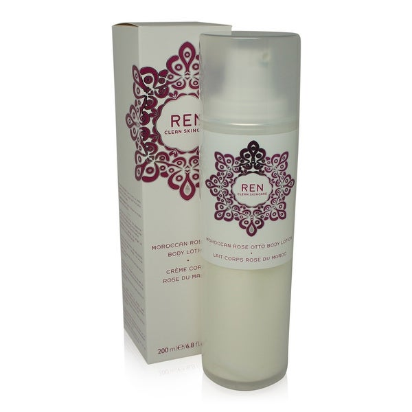 REN Skincare Moroccan Rose Otto Body Cream 6.8 Oz