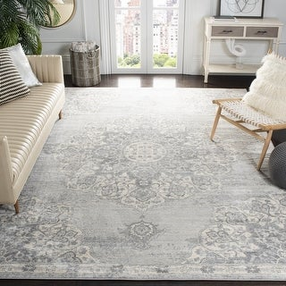 Link to Safavieh Brentwood Coral Distressed Medallion Rug Similar Items in Transitional Rugs