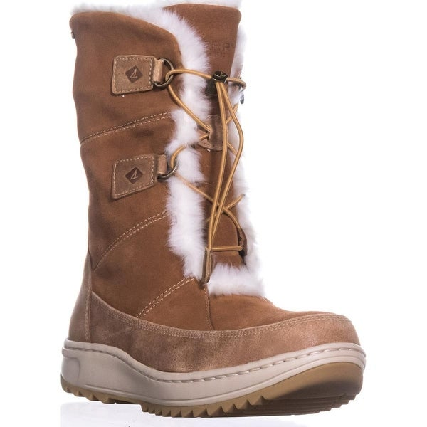 Sperry Top-Sider Powder Valley Thinsulate Snow Boots, Brown - 8.5 us / 39.5 eu