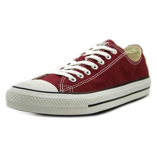 Converse Chuck Taylor Andy Warhold Men Canvas Burgundy Fashion Sneakers