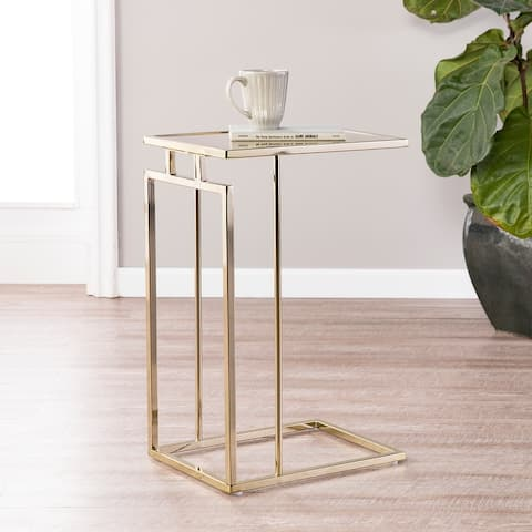Colbi Glass-Topped C-Table