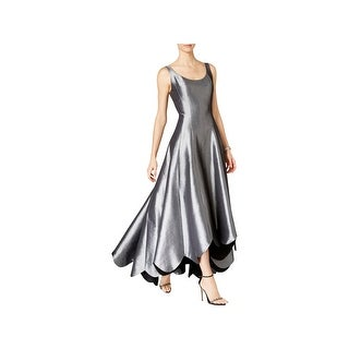 B Michael Womens Evening Dress Satin Scalloped