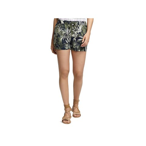 Sanctuary Womens Casual Shorts Embroidered Trooper