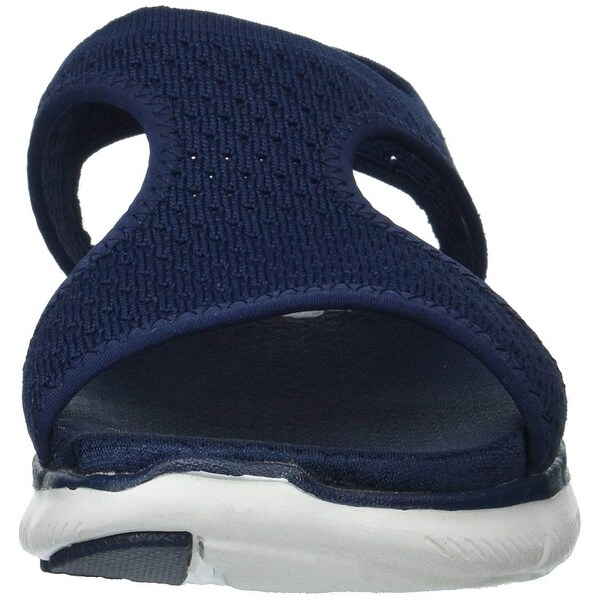 Skechers Knit Cutout Sport Sandals Deja Vu —
