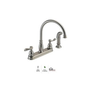 standard spout delta kitchen faucets for less overstock rh overstock com