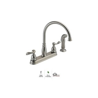 Delta 21996LF Windemere Kitchen Faucet with Side Spray - Includes Lifetime Warranty (3 options available)