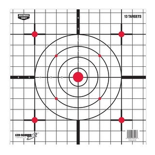 Birchwood Casey Plain Paper Target, 12 Inch, Sight In