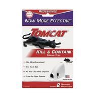 Tomcat 0360630 Kill & Contain Mouse Trap, Plastic