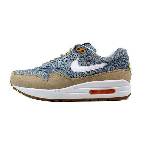 outlet boutique the best 100% high quality Shop Nike Women's Air Max 1 Liberty QS Blue Recall/White ...