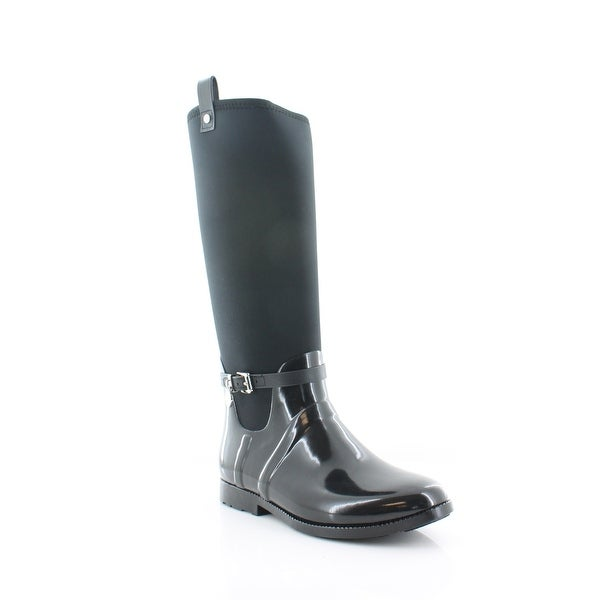 Michael Kors Charm Strech Rainboot Women's Boots Black
