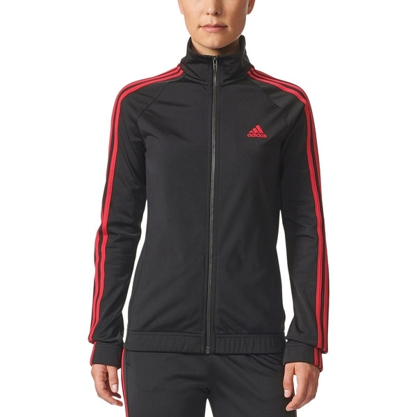 fb56ac54d Shop Adidas Womens Designed 2 Move Track Jacket Fitness Yoga - Free  Shipping On Orders Over  45 - Overstock - 25635085