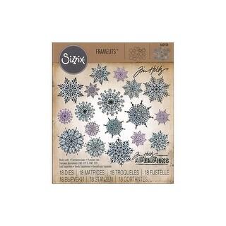 Sizzix THoltz Framelits Die Swirly Snowflakes