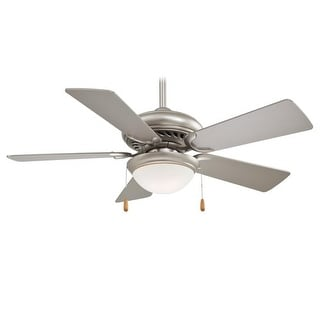 "MinkaAire Supra 44 Uni-Pack Supra 44"" 5 Blade Ceiling Fan with Light Kit and Blades Included"