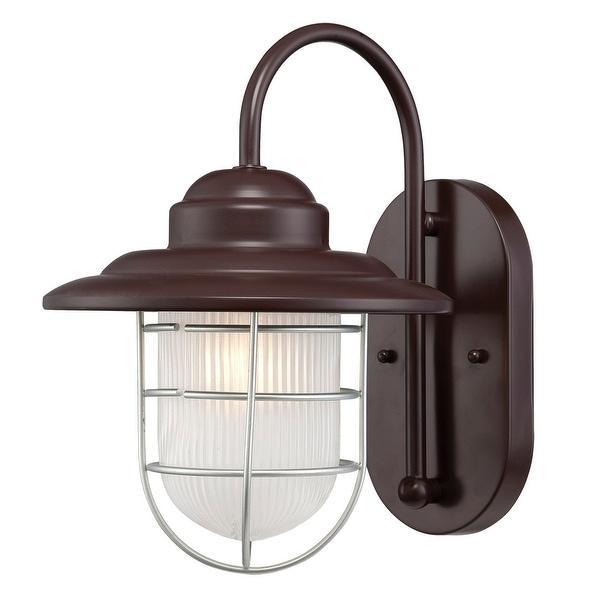 "Millennium Lighting 5390 R Series 1 Light Outdoor Wall Sconce - 8.5"". Opens flyout."