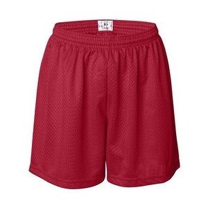 Pro Mesh Women's 5'' Inseam Shorts - Red - L