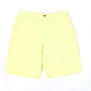 Tommy Hilfiger NEW Waxed Yellow Mens Size 40 Khakis Chinos Shorts