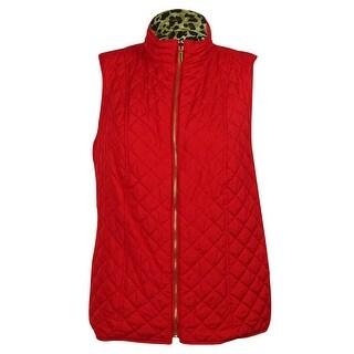 Charter Club Women's Reversible Vest