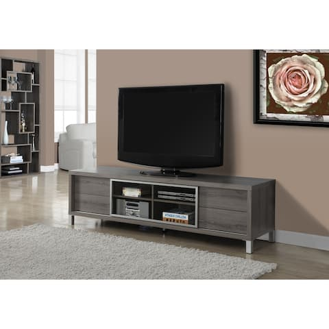 Monarch 2536 Dark Taupe Euro Style 70nch Tv Stand