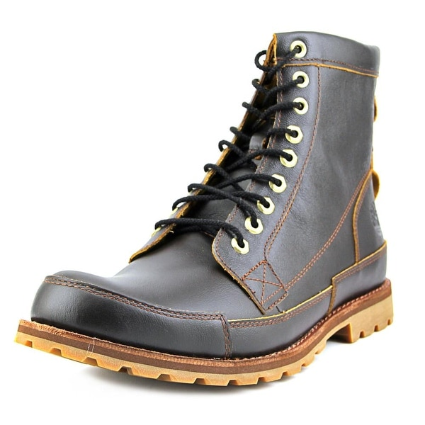Timberland Earthkeepers 6-inch Original Men Round Toe Leather Brown Boot