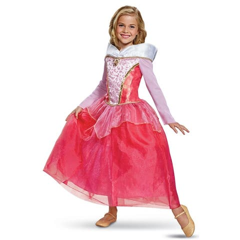 Disguise 2018 Aurora Deluxe Child Costume - Pink/White