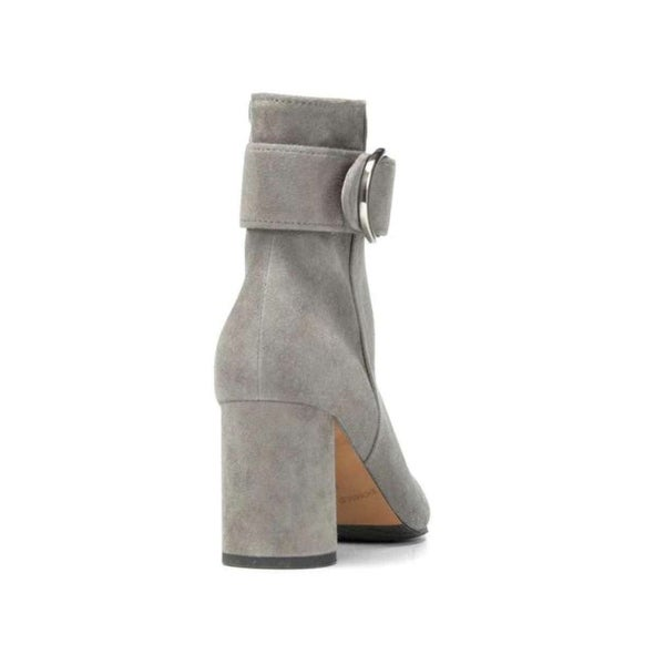 Donald J Pliner Womens Gabe Suede Square Toe Ankle Fashion Boots - 7