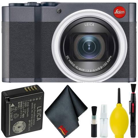 Leica C-Lux Digital Camera (Midnight Blue) Basic Bundle - Basic Bundle