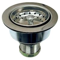 """Danco 86803 Basket Strainer Assembly, Stainless Steel, 3-1/2"""""""