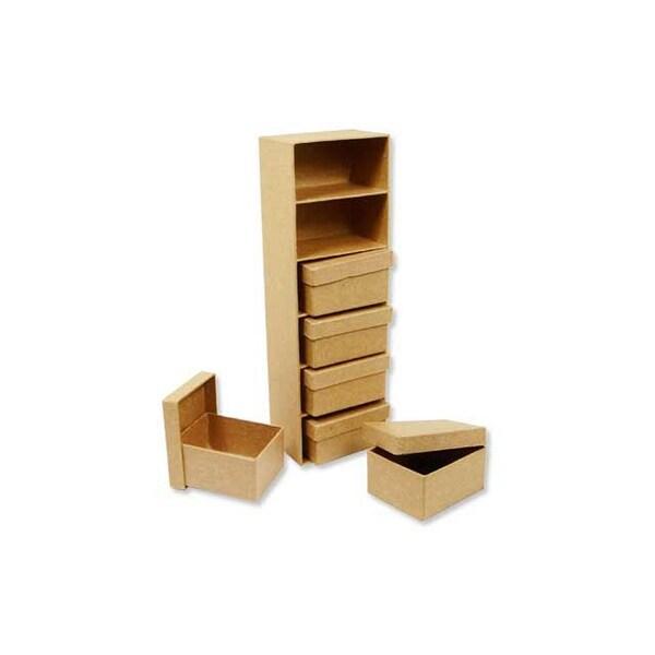 Paper Mache Frame Box: Shop PA Paper Mache Mini Boxes W/Frame Kraft