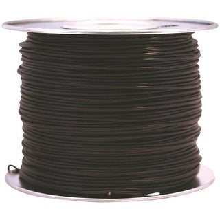 Coleman Cable 55666623 Primary Wire, 16-Gauge, 100-Feet Bulk Spool, Black
