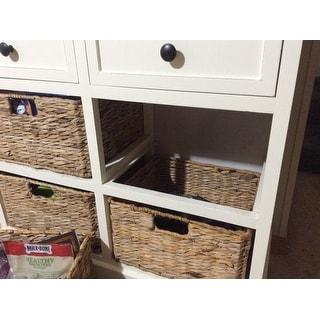 Safavieh Cape Cod 6-Drawer Cream Storage Unit