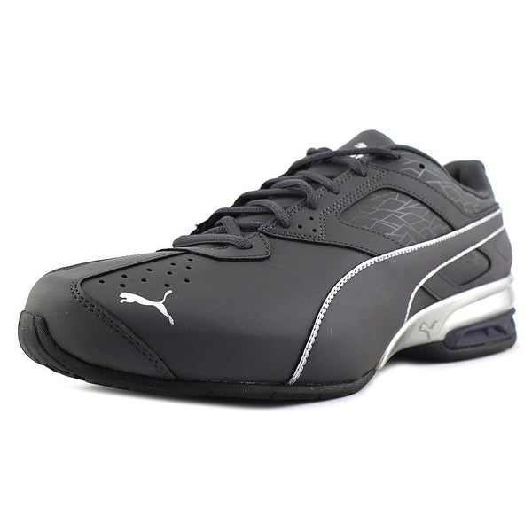 4cdb7135ed7ca2 Shop Puma Tazon 6 Fracture Men Round Toe Synthetic Gray Running Shoe ...