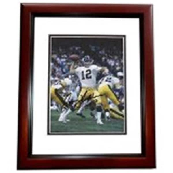 fd1a9f091 Shop Terry Bradshaw Autographed Pittsburgh Steelers 8 x 10 Photo - - Free  Shipping Today - Overstock.com - 23715803