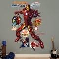 Iron Man Avengers Assemble REALBIG Wall Decal