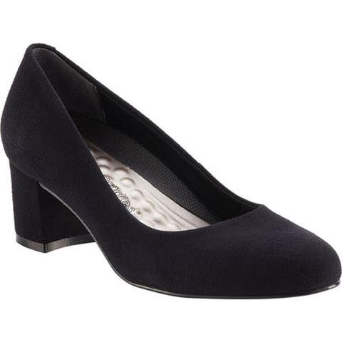 Walking Cradles Women's Jessica Pump Black Suede