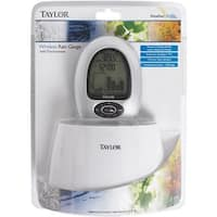 Taylor Precision Wireless Rain Gauge 2755 Unit: EACH