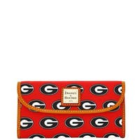 Dooney & Bourke NCAA Georgia Continental Clutch Wallet (Introduced by Dooney & Bourke at $128 in Jan 2015)