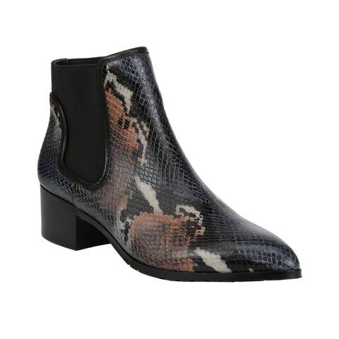 Donald Pliner Dyla Leather Bootie