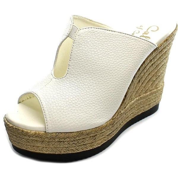 Callisto Alessaa Open Toe Synthetic Wedge Sandal