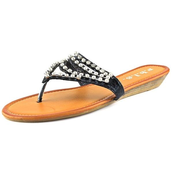 r.b.l.s. Abba Black Sandals