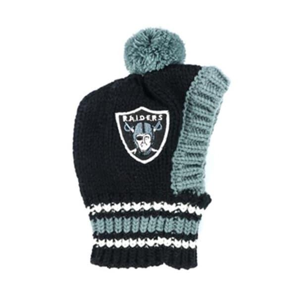 775fa63da Shop Little Earth 3C20125-RAID-LRG Large NFL Raiders Knit Hat - Free  Shipping On Orders Over  45 - - 23873598