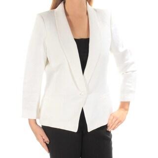 Tommy Hilfiger Ivory Shawl-Collar Women's Jacket