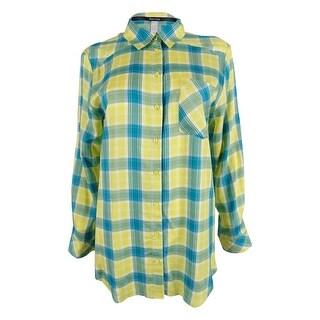 Kensie Women's Long Sleeve Shirt - s