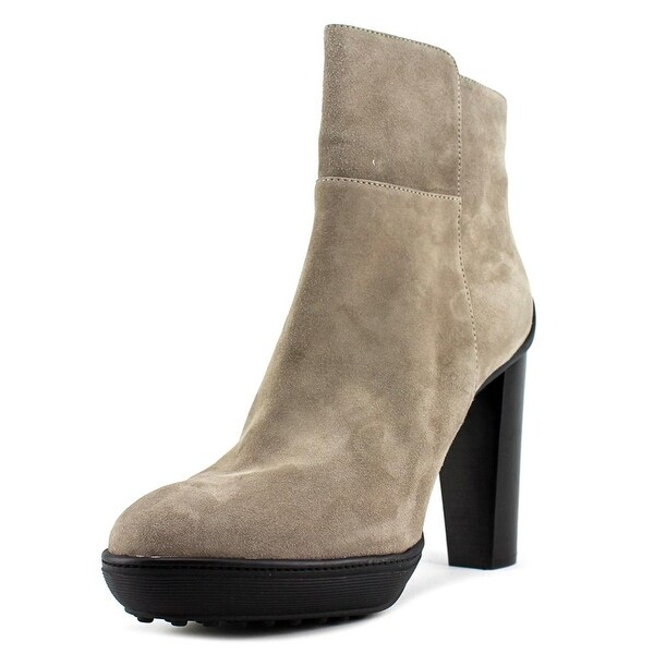Tod's Round-Toe Suede Ankle Boots outlet classic discount nicekicks free shipping original sale hot sale buy cheap choice 5VJ5Z4
