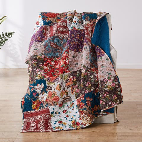 Barefoot Bungalow Poetry Classic Throw