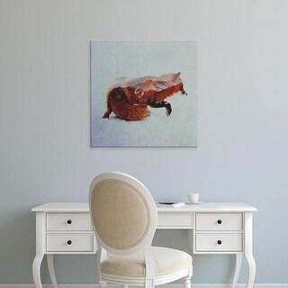 Easy Art Prints Andreas Lie's 'Fox North' Premium Canvas Art