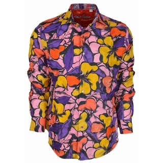 Robert Graham Classic Fit SACATON Floral Limited Edition Sport Shirt M