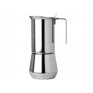 ILSA Turbo Express Stainless Steel Espresso Maker - Meaures 1 Cup