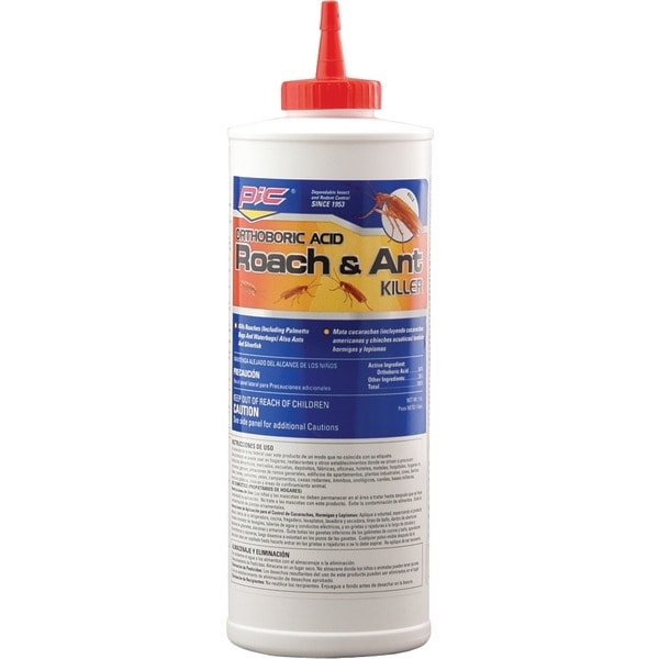 Pic Ba-16 Boric Acid Roach Killer Iii, 16Oz