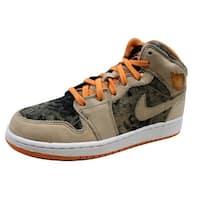 Nike Grade-School Air Jordan 1 Birch/Light Melon-Black 322678-281