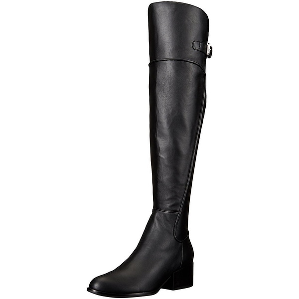 GUESS Womens Daina3 Almond Toe Over Knee Fashion Boots